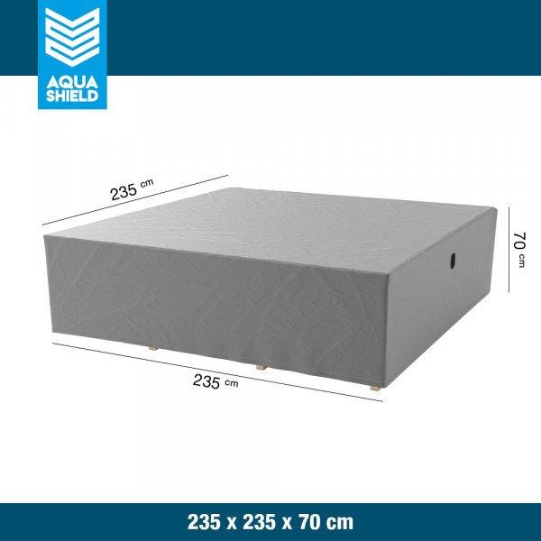 Loungeset hoes 235 x 235 H: 70 cm