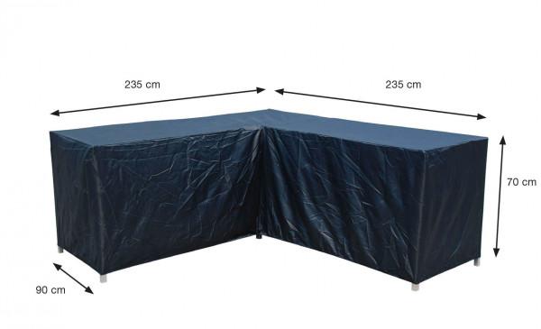 Hoes voor hoekbank 235 x 235 x 90 H: 70 cm