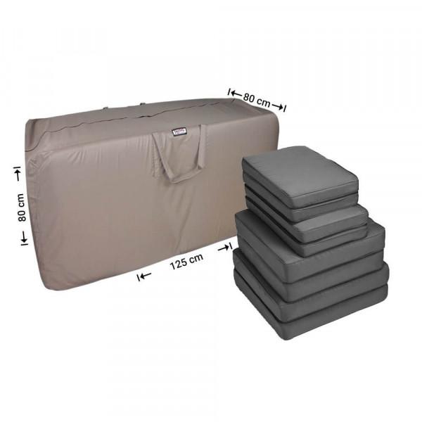 Tas voor lounge kussens 125 x 80 H: 80 cm