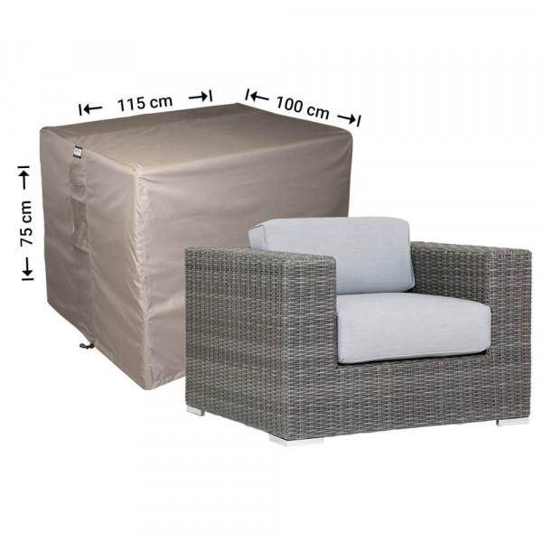 Hoes voor loungestoel 115 x 100 H: 75 cm
