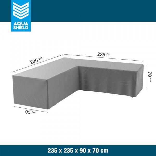 Hoes lounge hoekbank 235 x 235 x 90 H: 70 cm