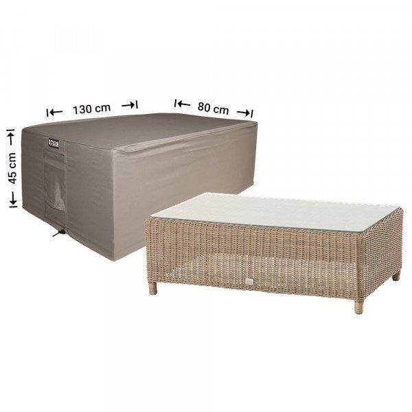 Beschermhoes voor lounge table 130 x 80 H: 45 cm