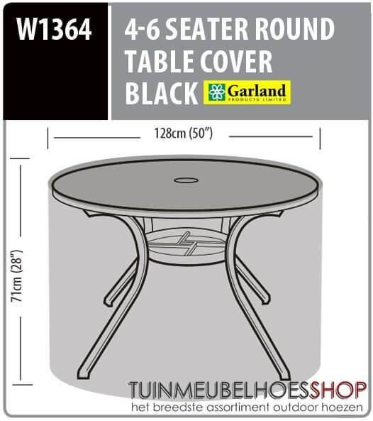 Afdekhoes ronde tuintafel Ø: 128 cm & H: 71 cm