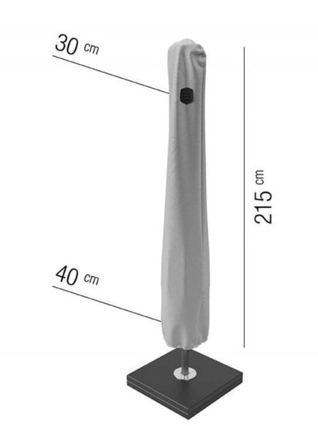 Aquashield parasolhoes H: 215 cm