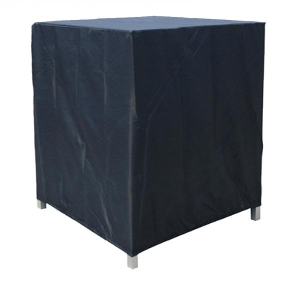 Rechthoekige beschermhoes 105 x 80 H: 130 cm