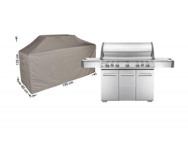 Barbecue afdekhoes 195 x 80 H: 125/115 cm