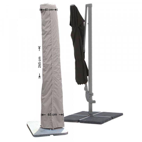 Parasolhoes met stok 265 cm