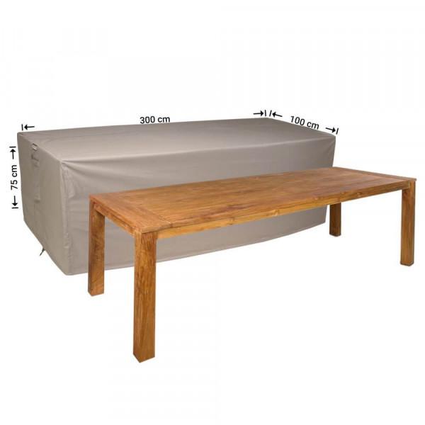 Tuintafel beschermhoes 300 x 100 H: 75 cm