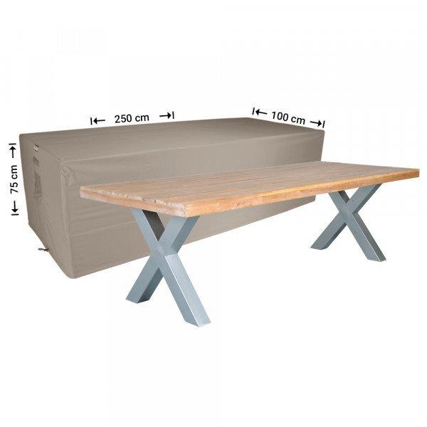 Tuinhoes voor tafel 250 x 100 H: 75 cm