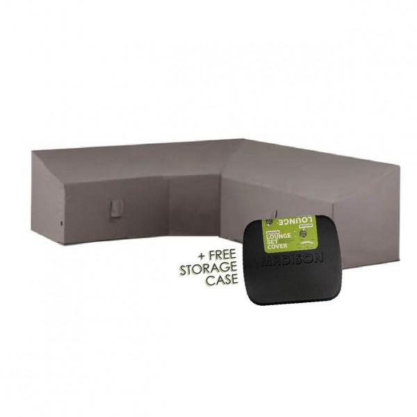 Hoes voor hoekbank 300 x 300 H: 90/70 cm