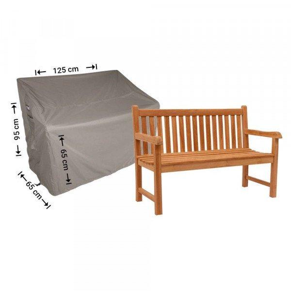 Hoes voor tuinbank 125 x 65 H: 95/65cm