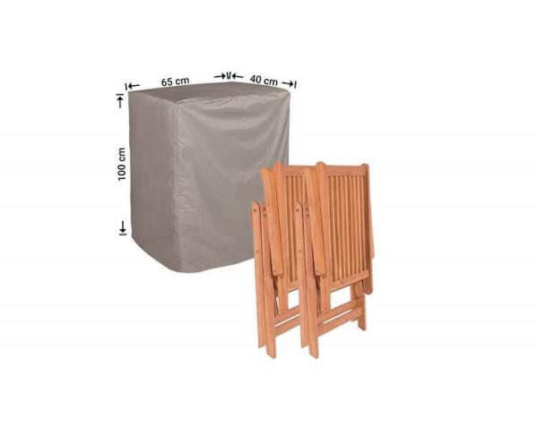 Hoes voor opgeklapte stoelen 40 x 65 H: 100 cm