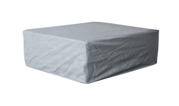 Hoes loungetafel 100 x 100 H: 50 cm
