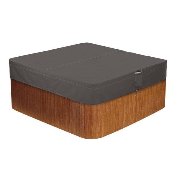 Vierkante hot tub en jacuzzi hoes 239 x 239 H: 35 cm