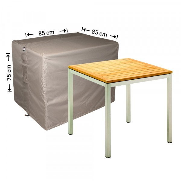 Vierkante tuintafelhoes 85 x 85 H: 75 cm