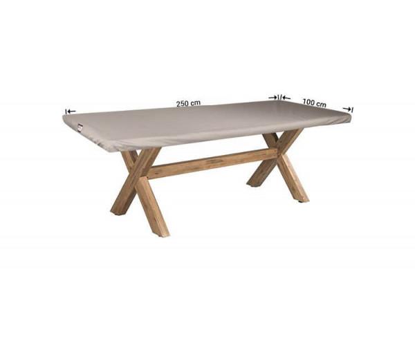 Hoes voor tafelblad 250 x 100 cm