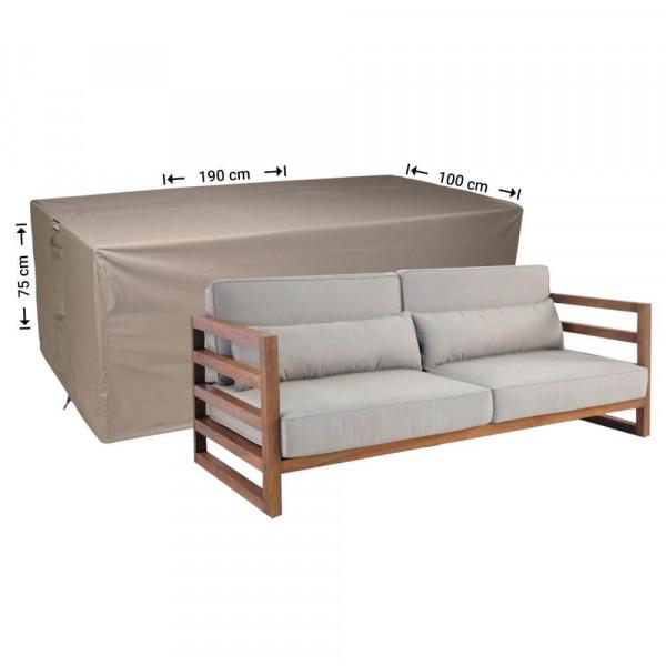 Hoes voor loungebank 190 x 100 H: 75 cm