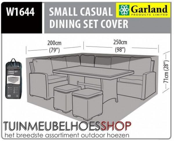 Beschermhoes lounge dining 250 x 200 H: 71 cm