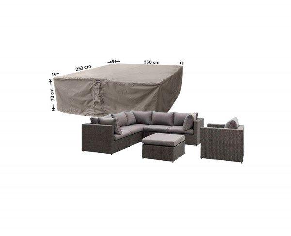 Hoes voor loungeset 250 x 250 H: 70 cm