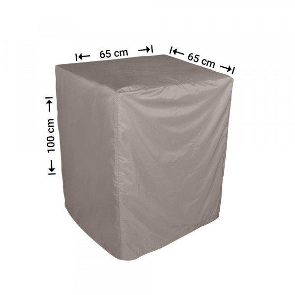 Vierkante afdekhoes 65 x 65 H: 100 cm