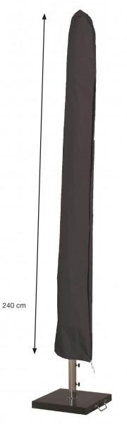 Hoes voor parasol H: 240 cm