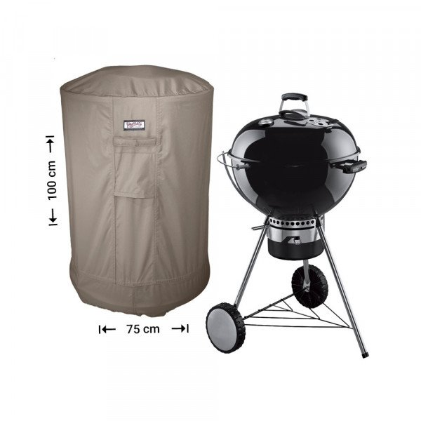 Hoes voor BBQ rond Ø: 75 H: 100 cm