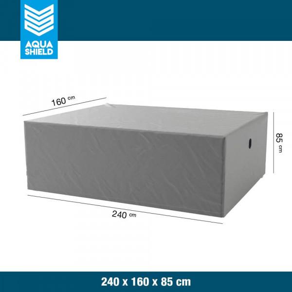 Hoes voor tafel en stoelen 240 x 160 H: 85 cm