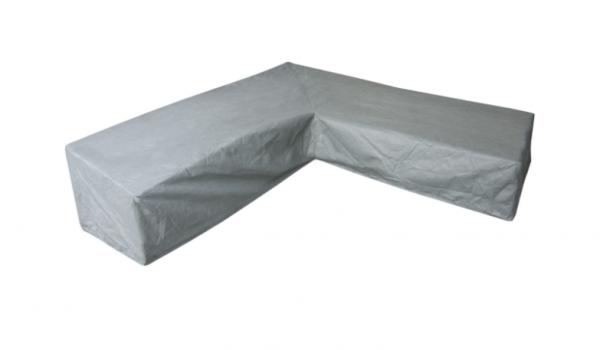 Hoekbankhoes hoge rugleuning 300 x 300 x 100 H: 105/70 cm