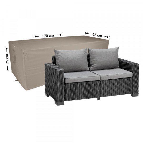 Loungebank beschermhoes 170 x 95 H: 75 cm