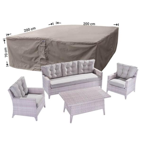Afdekhoes loungeset 200 x 200 H: 70 cm