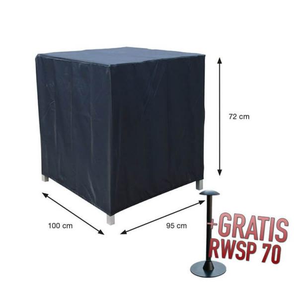 Beschermhoes loungestoel 100 x 95 H: 72 cm