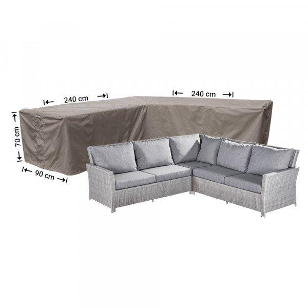 Hoes voor loungeset 240 x 240 x 90 H: 70 cm
