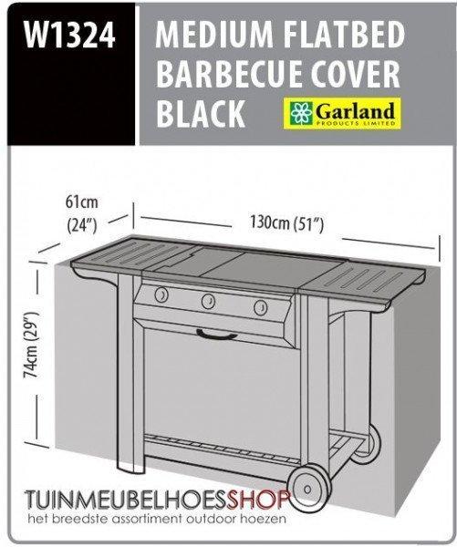 Afdekhoes barbecue 130 x 61 H: 74 cm