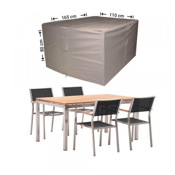 Hoes voor tuinset vierkant 165 x 110 H: 80 cm