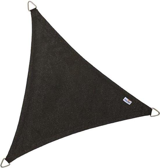 Coolfit schaduwdoek driehoek 3,6m - Olijf