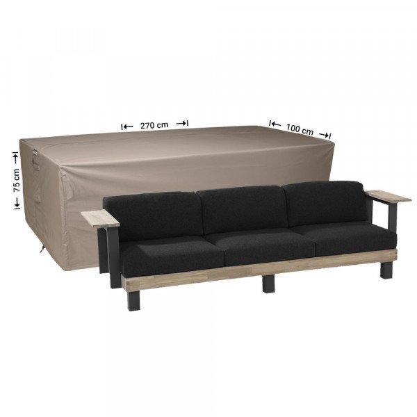 Hoes voor loungebank 270 x 100 x 75 cm
