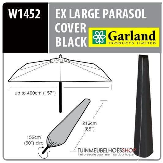Hoes voor parasol H: 216 cm