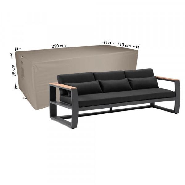 Afdekhoes loungebank 250 x 110 H: 75 cm