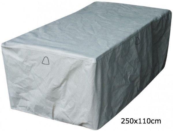 Tuintafel tuinmeubelhoes 250 x 110 H: 75 cm