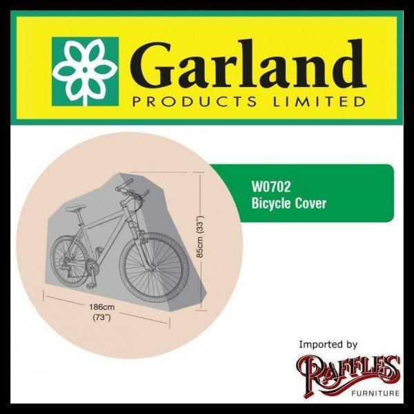 Hoes voor fiets 186 x 85 cm