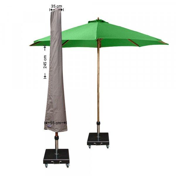 Hoes parasol H: 245 cm