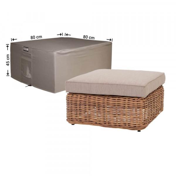 Hoes voor tafel loungeset 80 x 80 H: 45 cm