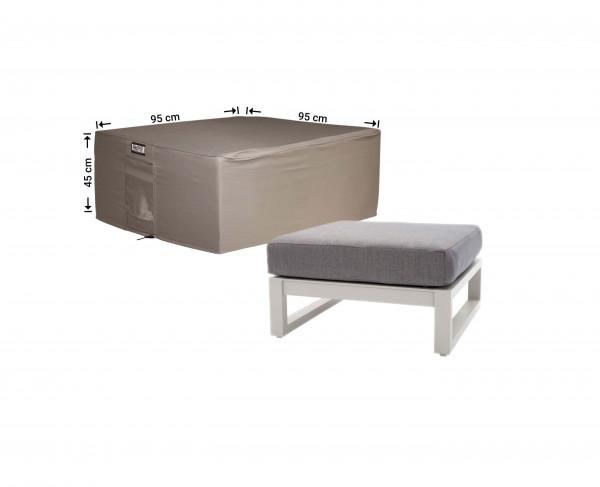 Hoes voor lounge tafel 95 x 95 H: 45 cm