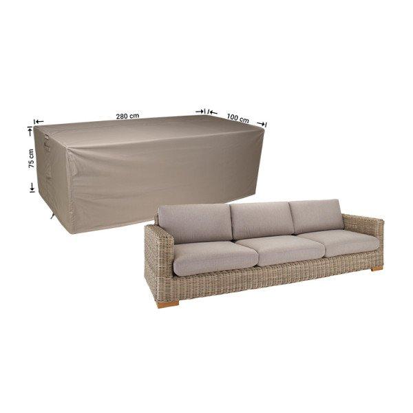 Afdekhoes voor loungebank 280 x 100 H: 75 cm