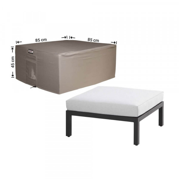 Hoes voor lounge table 85 x 85 H: 45 cm