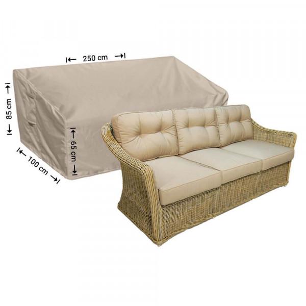 Hoes loungebank 250 x 100 H: 85 / 65 cm