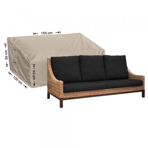 Tuinmeubelhoes loungebank 195 x 100 H: 85/65 cm
