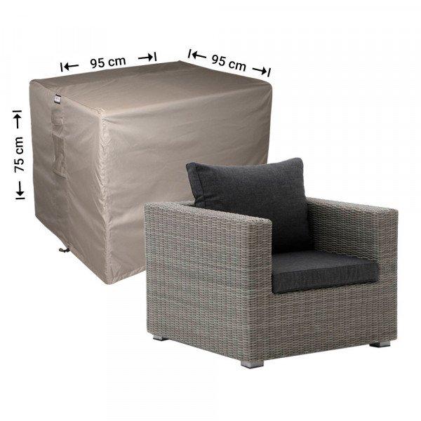 Hoes voor loungestoel 95 x 95 H: 75 cm