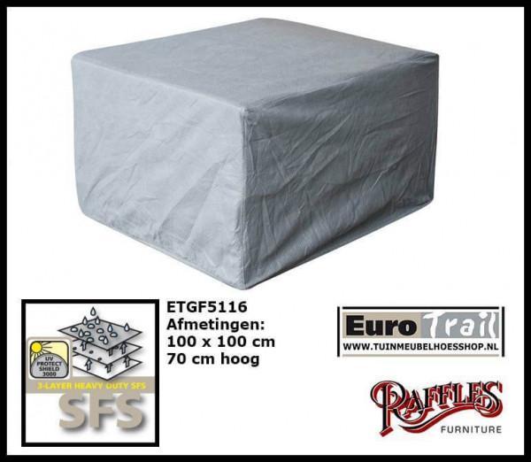 Loungestoel beschermhoes 100 x 100 H: 70 cm