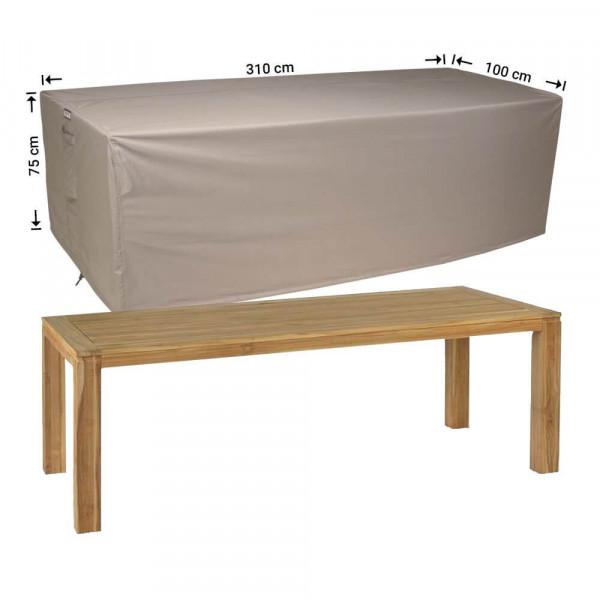 Hoes voor overtuintafel 310 x 100 H: 75 cm